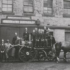 Bonnybridge Foundry Fire Engine