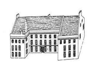 Callendar House in 1745
