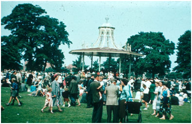 Grangemouth Bandstand