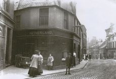 High Street at the Lint Riggs (c1910)
