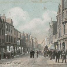 High Street looking west (c1900)