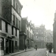 High Street, West End with Crown Hotel