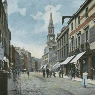 High Street looking west (c1920s)