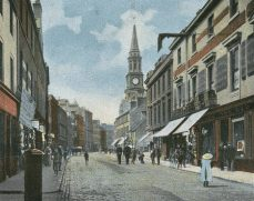 High Street looking west (c1920s)
