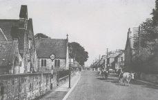 Main Street looking east (1950s)