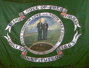 Free Colliers Flag (Green)