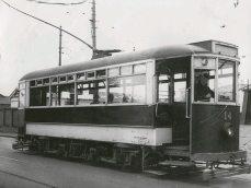 Single decker Brush Tram (1930s)
