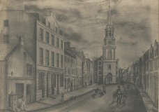 Steeple area drawing (1830s)