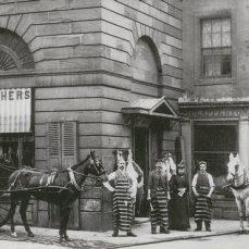 Steeple butcher's shop (1910)