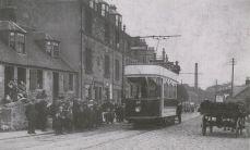 Tram at Camelon Bridge