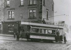 Tram at Larbert Cross (1905)