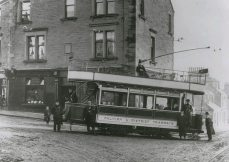 Tram at Larbert Cross (1905)