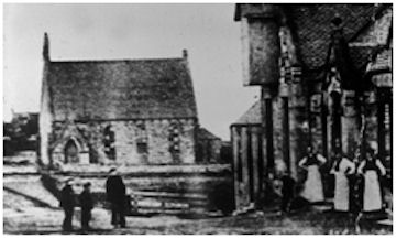 Blackbraes Church and co-op