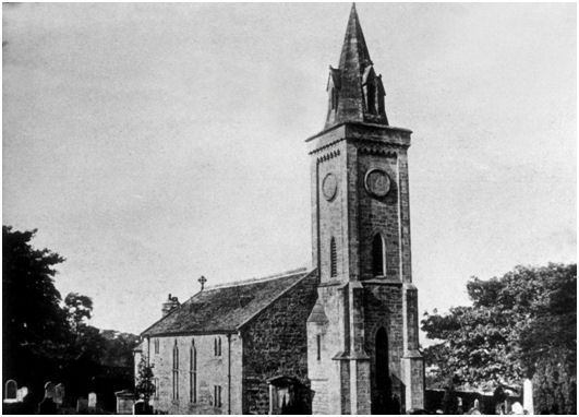 Carriden Church circa 1900