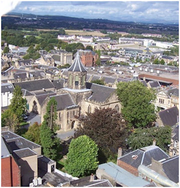 Falkirk with Church