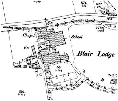 Map of Blairlodge School