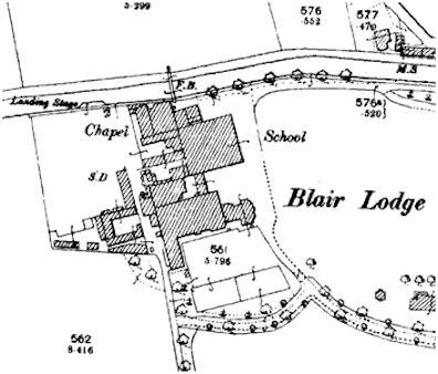 Map of Blairlodge School