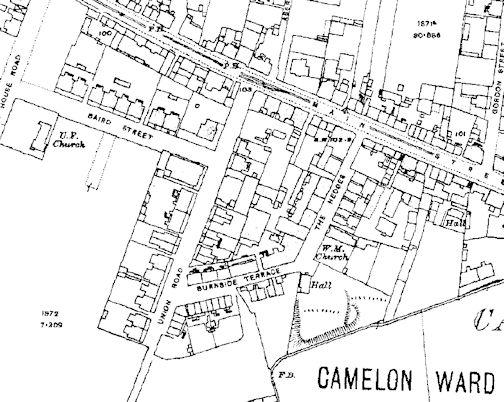 Camelon Ward Map