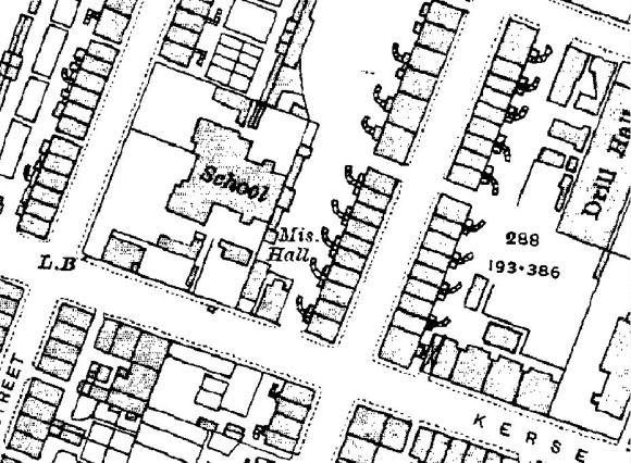 Map for Grangemouth Spiritualist Church