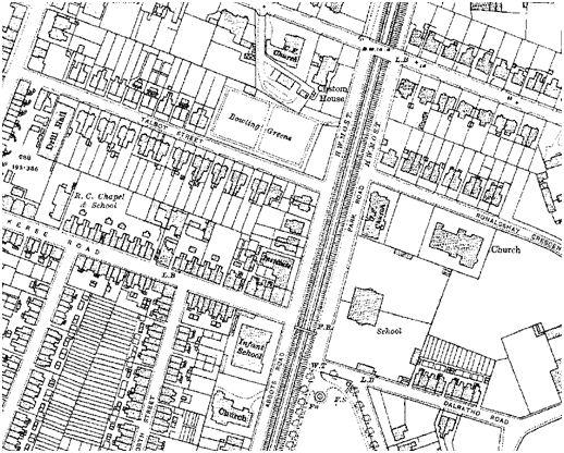 Map of Grangemouth