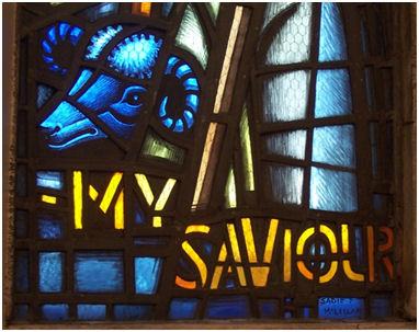 Denny Parish Church (4) detail
