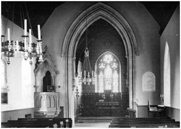 St Andrews Dunmore interior