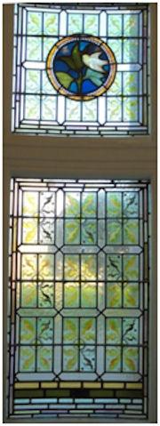 Avon Hall side window