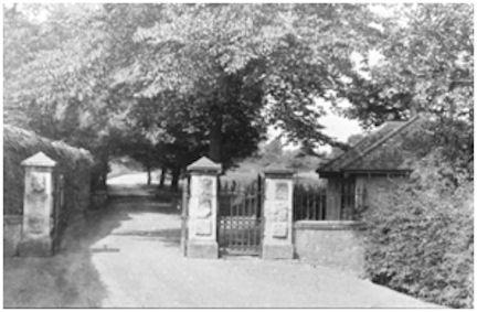 Entrance to South Bantaskine Park