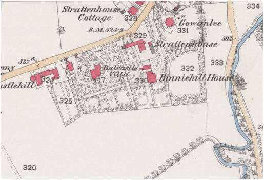 1862 Ordnance Survey Map