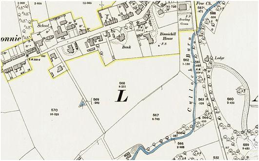 1897 Ordnance Survey Map