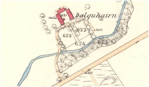 Dalquhairn OS Map