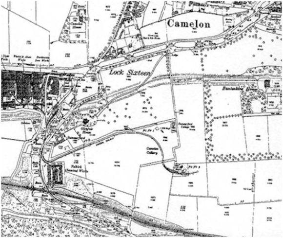 Ordnance Survey Map of Camelon