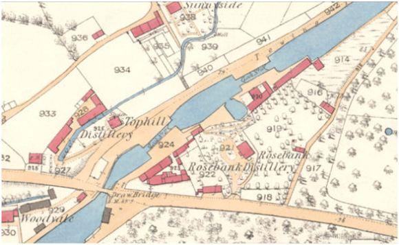 OS Map of Rosebank