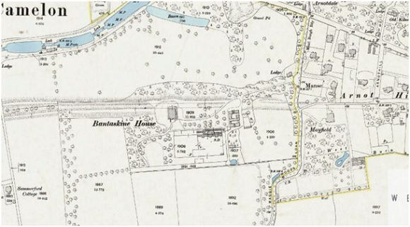 1896 Ordnance Survey map.
