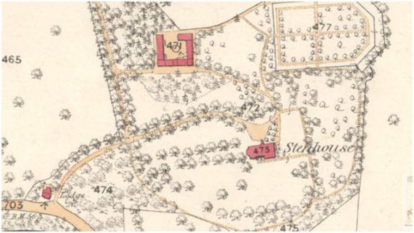 1st Edition Ordnance Survey Map