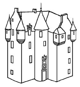 Drawing of Tower House (1)