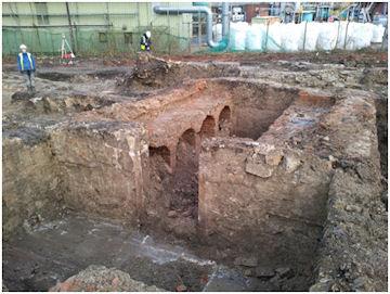 Excavation of Wine Cellar