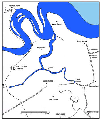 Map of Water Courses