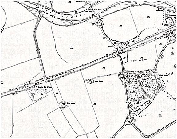 Ordnance Survey Map of Roads