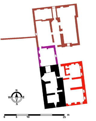 Plan of Kerse House
