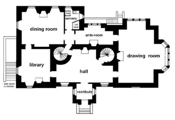 Plan of Stenhouse 1920