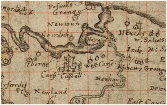 Pont Map of Kerse