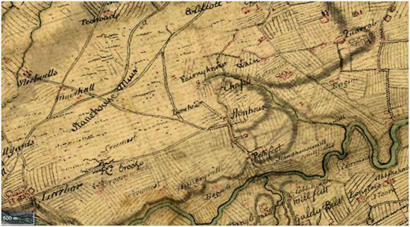 Roy Map of Stenhouse