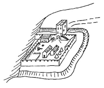 Castle Rankine Drawing