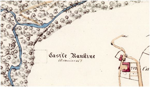 Castle Rankine Map