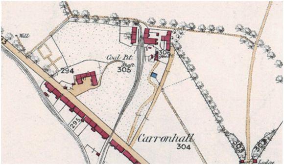 Skaithmuir OS Map